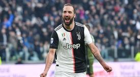 Higuaín já não é mais parte da Juventus. EFE/EPA/ALESSANDRO DI MARCO