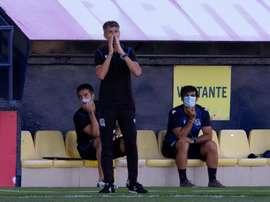 Imanol dio por bueno el punto ante el Madrid. EFE