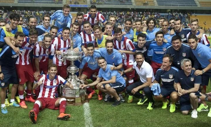 El Atlético de Madrid disputará el Trofeo Carranza ante el Cádiz. EFE