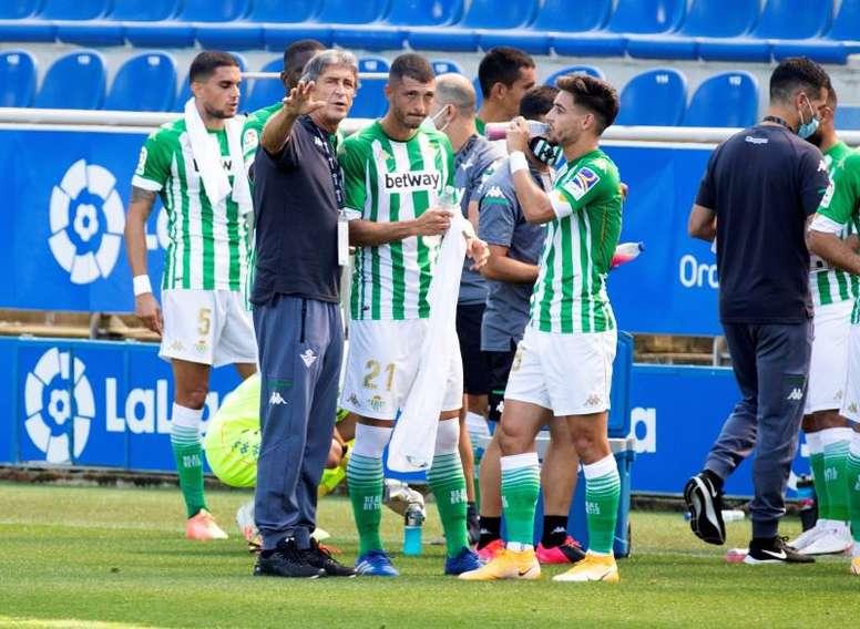 Al Betis se le atraganta Simeone. EFE