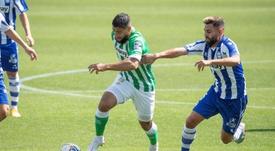 El Betis se llevó la victoria de Mendizorroza. EFE/ADRIAN RUIZ-HIERRO