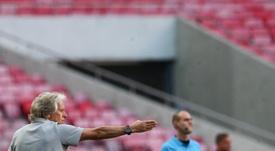 Le Benfica lance sa saison de Liga après sa déception européenne. EFE