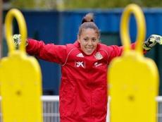 Lola Gallardo deja la Selección por un resultado dudoso. EFE