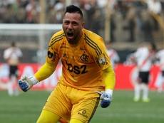 El cerrojo del campeón de América no estará en Ecuador. EFE/Antonio Lacerda/Archivo