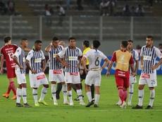 Alianza Lima puso rumbo a Venezuela en busca del triunfo. EFE