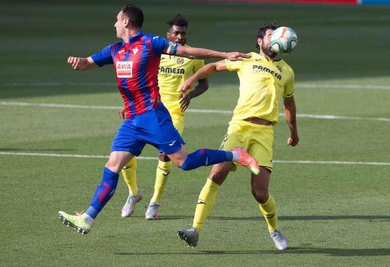 El Villarreal se impuso al Eibar en sus tres últimas visitas. EFE