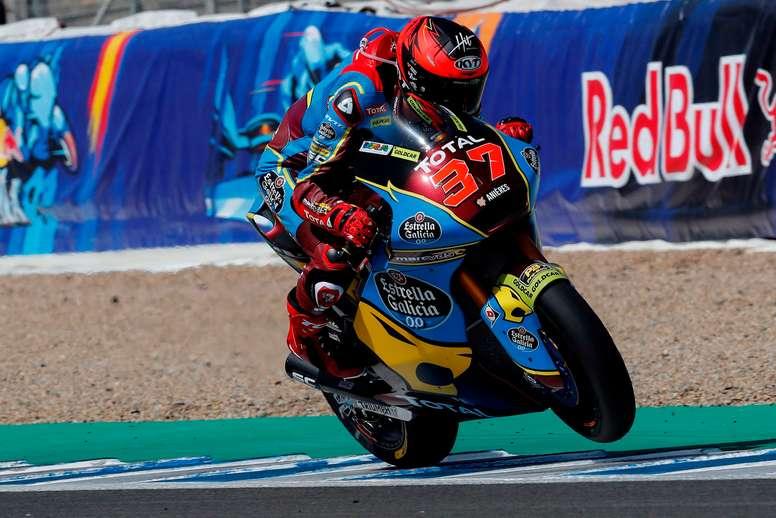 El piloto español de Moto2 Augusto Fernández (EG 0,0 Marc VDS). EFE/Román Ríos/Archivo