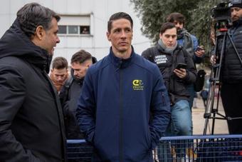 Fernando Torres es el segundo entrenador del Juvenil A del Atleti. EFE