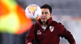 Marcelo Gallardo é cotado para assumir o comando do Real Madrid. EFE/Juan Ignacio Roncoroni/Arquivo