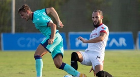 Gudelj valoró el empate del Sevilla en Londres. EFE