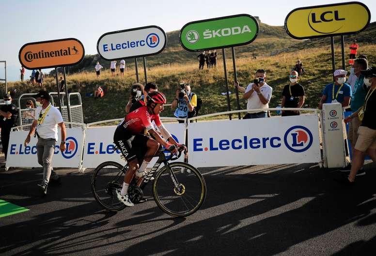 El ciclista colombiano, Nairo Quintana. EFE/EPA/Christophe Petit-Tesson