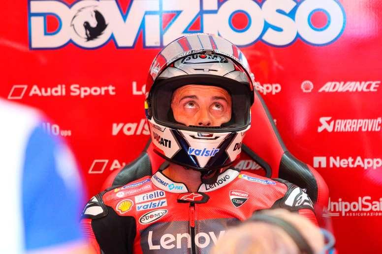 El piloto italiano de MotoGP, Andrea Dovizioso. EFE/EPA/PASQUALE BOVE/Archivo