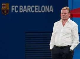 Koeman mécontent de la position dans laquelle son club l'a placé. EFE