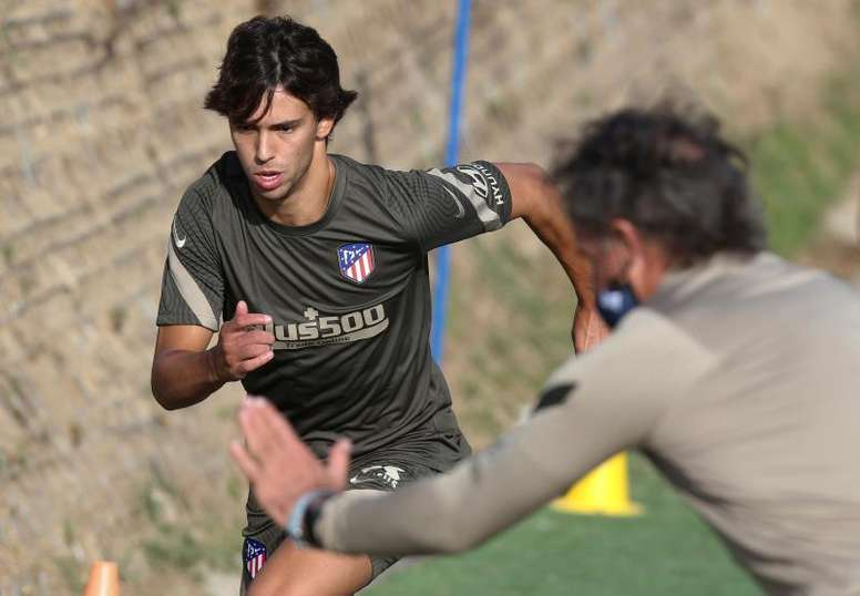 Joao Félix, con optimismo en este inicio de temporada. EFE