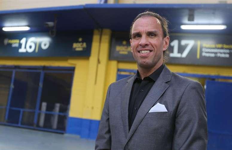 Navarro Montoya renuncia como director de las juveniles de Boca Juniors. EFE