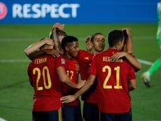 El buen juego de España en la Liga de las Naciones le permite ascender. EFE