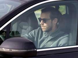 Gareth Bale ha salutato i compagni. EFE