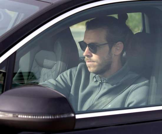 Gareth Bale travelled to London on Friday. EFE