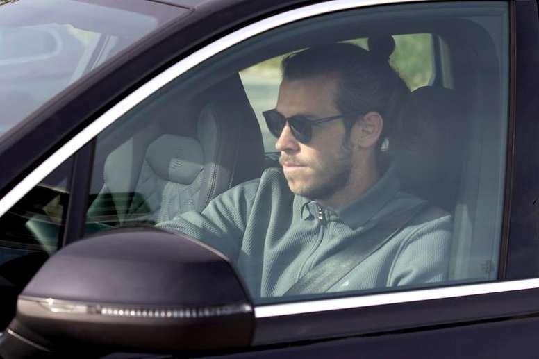 Gareth Bale viajó a Londres este viernes. EFE/Archivo