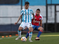 Nacional se impuso por 0-1 a Racing. EFE