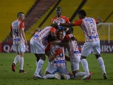Junior no ha dicho su última palabra en la Libertadores. EFE/Marcos Pin