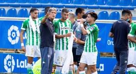 Pellegrini espera que Fekir y Carvalho continúen. EFE