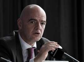 Infantino defende sua gestão na Fifa. EFE