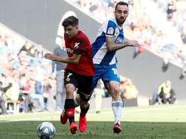 El Espanyol recibe en Cornellà-El Prat al Mallorca. EFE