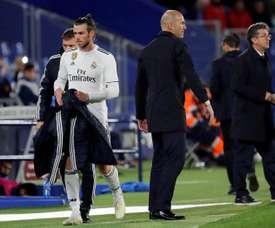 Bale critica il Real Madrid. EFE