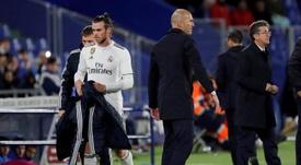 Bale regresó al Tottenham, donde le espera Mourinho. EFE
