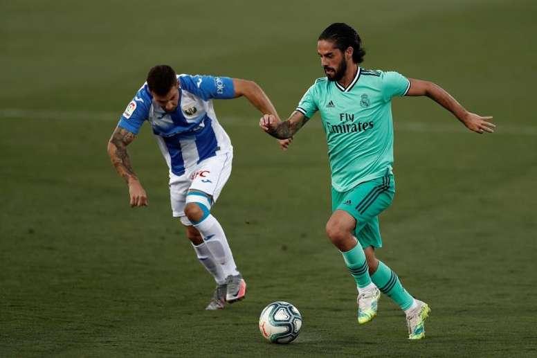 Isco está perto de deixar o Real Madrid. EFE/Mariscal/Arquivo
