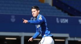 James, de nuevo en el equipo ideal de la jornada de la Premier. EFE
