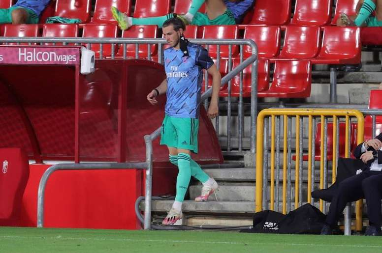 O recado de Gareth Bale ao Real Madrid. EFE/JuanJo Martín