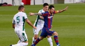 Barcelona conquistou seu 55º Joan Gamper. EFE/Quique García