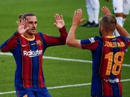 Le Barça l'emporte sur la plus petite des marges. afp