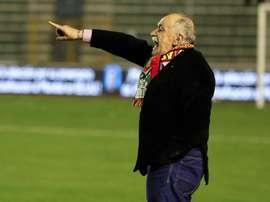 La arenga del español que llevó a Bolivia por última vez a un Mundial. EFE