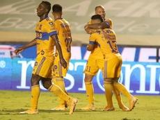 López y Guzmán dan un plácido triunfo a Tigres. EFE