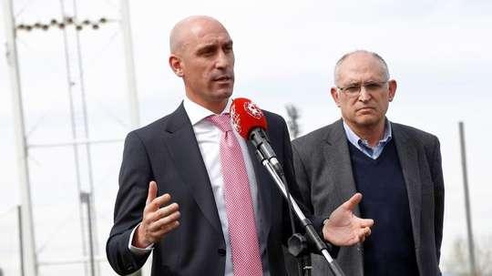 Rubiales seguirá como presidente de la RFEF. EFE