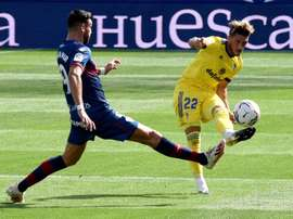 Perera analizó la primera victoria del Cádiz. EFE/Javier Blasco