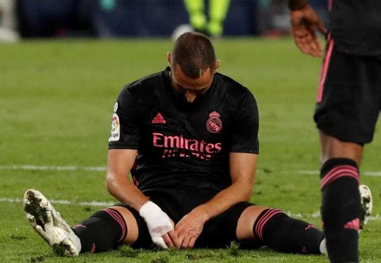 Le Real Madrid cale d'entrée. EFE
