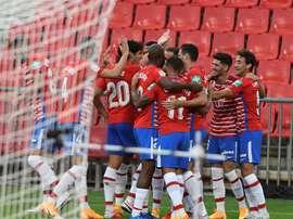 El Granada nunca antes había ganado las dos primeras jornadas en Primera. EFE