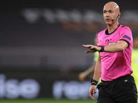 Sevilla y Bayern tienen buena experiencia con el árbitro Anthony Taylor. EFE/EPA/Lars Baron