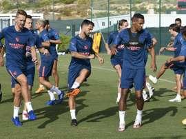 El Sevilla disputa este jueves la final de la Supercopa de Europa. EFE