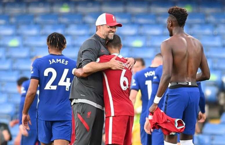 El Liverpool teme una lesión de Thiago. EFE