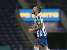 El Oporto superó al Sporting de Braga por 3-1. EFE/EPA