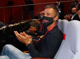 Rubiales le da libertad a Luis Enrique. EFE
