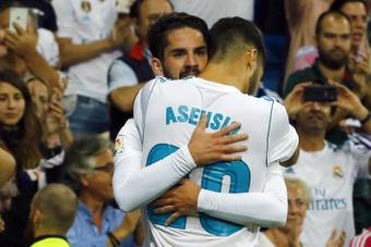 Isco tiene la confianza de Ancelotti. EFE