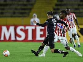 Junior recibe al motivado Independiente del Valle. EFE
