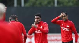 El PSV se enfrenta al Mura por una plaza en la Europa League. EFE/EPA