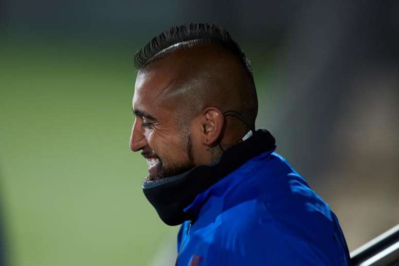 Vidal has left for Inter. EFE